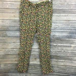 Rag & Bone Floral Silk Blend Pants